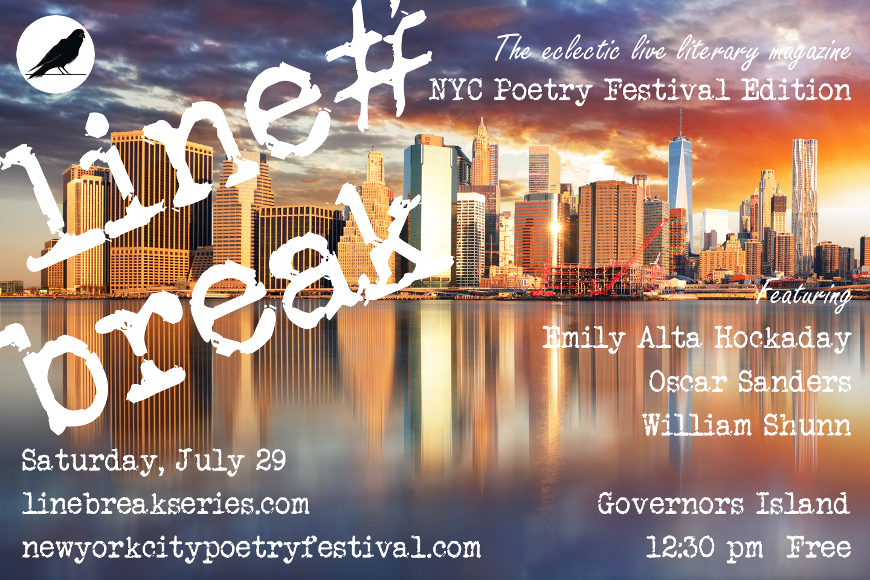 Line Break #9a: Saturday, July 29, 2017, 12:30 p.m.